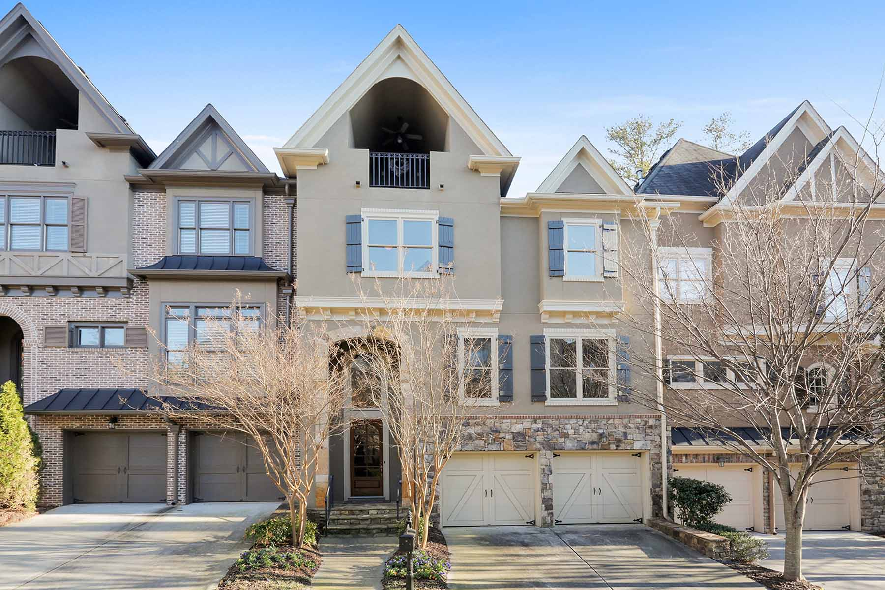 Townhouse for Sale at Gated townhome in serene setting 1912 Saxon Valley Circle Atlanta, Georgia 30319 United States