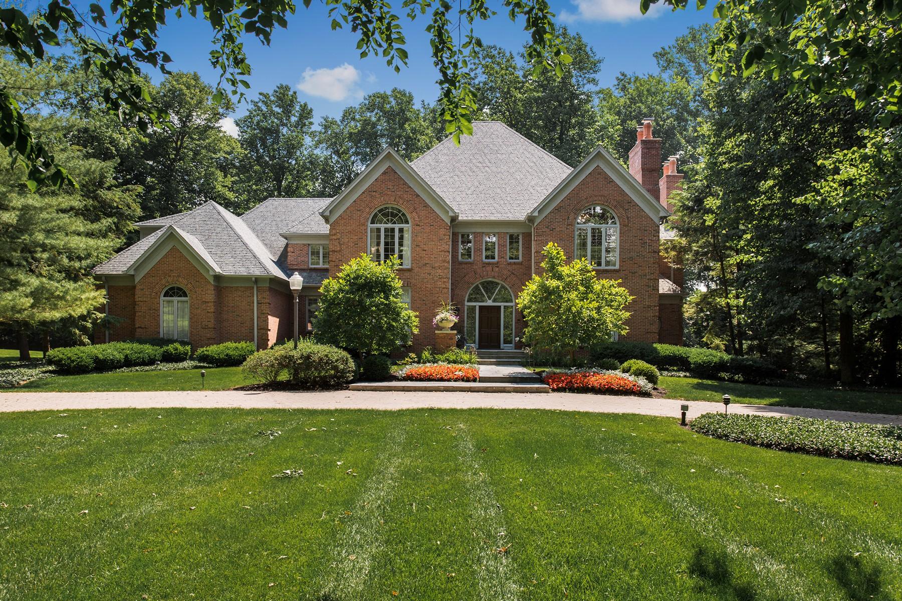 独户住宅 为 销售 在 Bridlebourne Wooded Lot 10923 Sedgemoor Circle 卡梅尔, 印第安纳州, 46032 美国