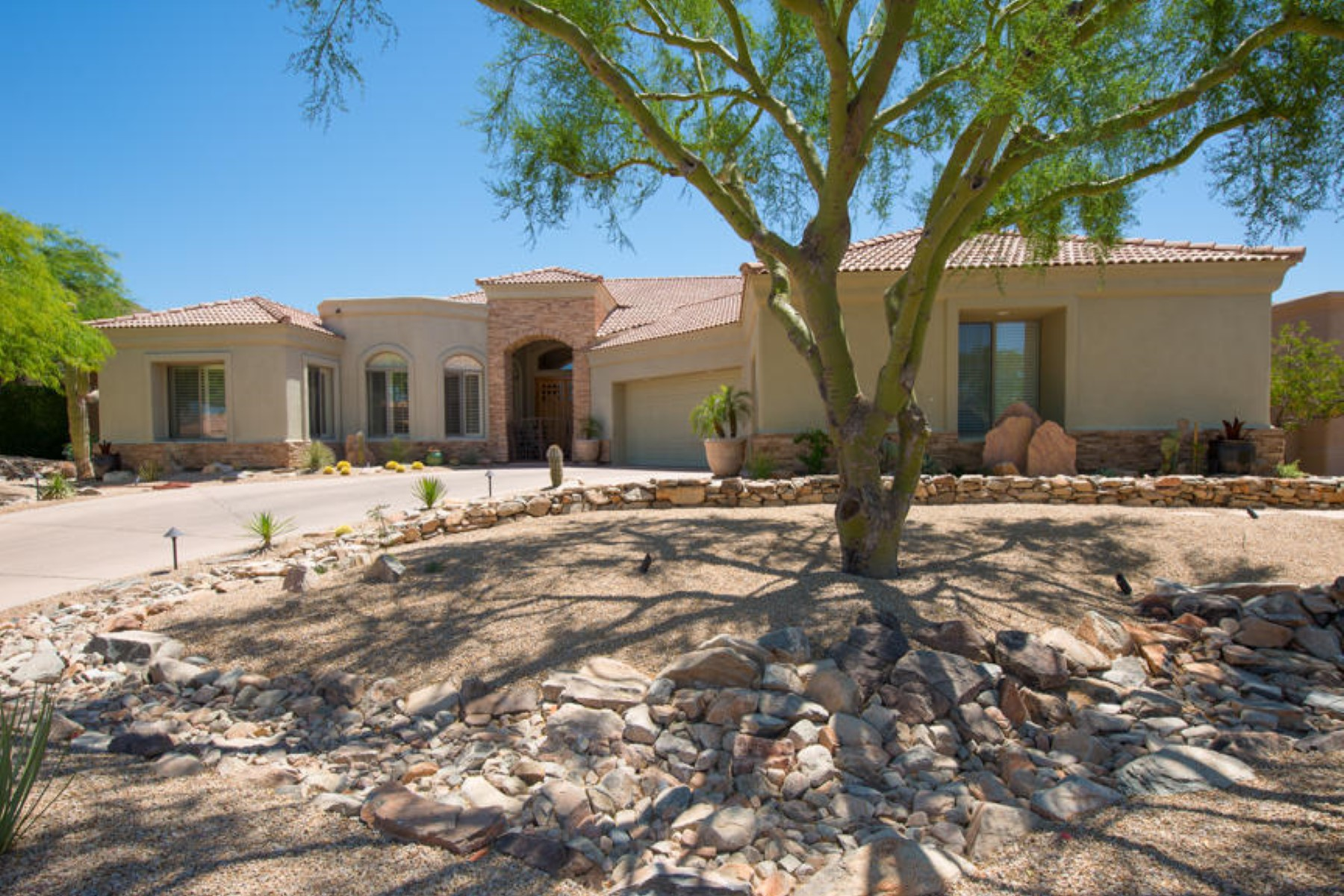 Single Family Home for Sale at Custom Built Home In Guard Gated Ancala 12357 N 116th Street Scottsdale, Arizona 85259 United States