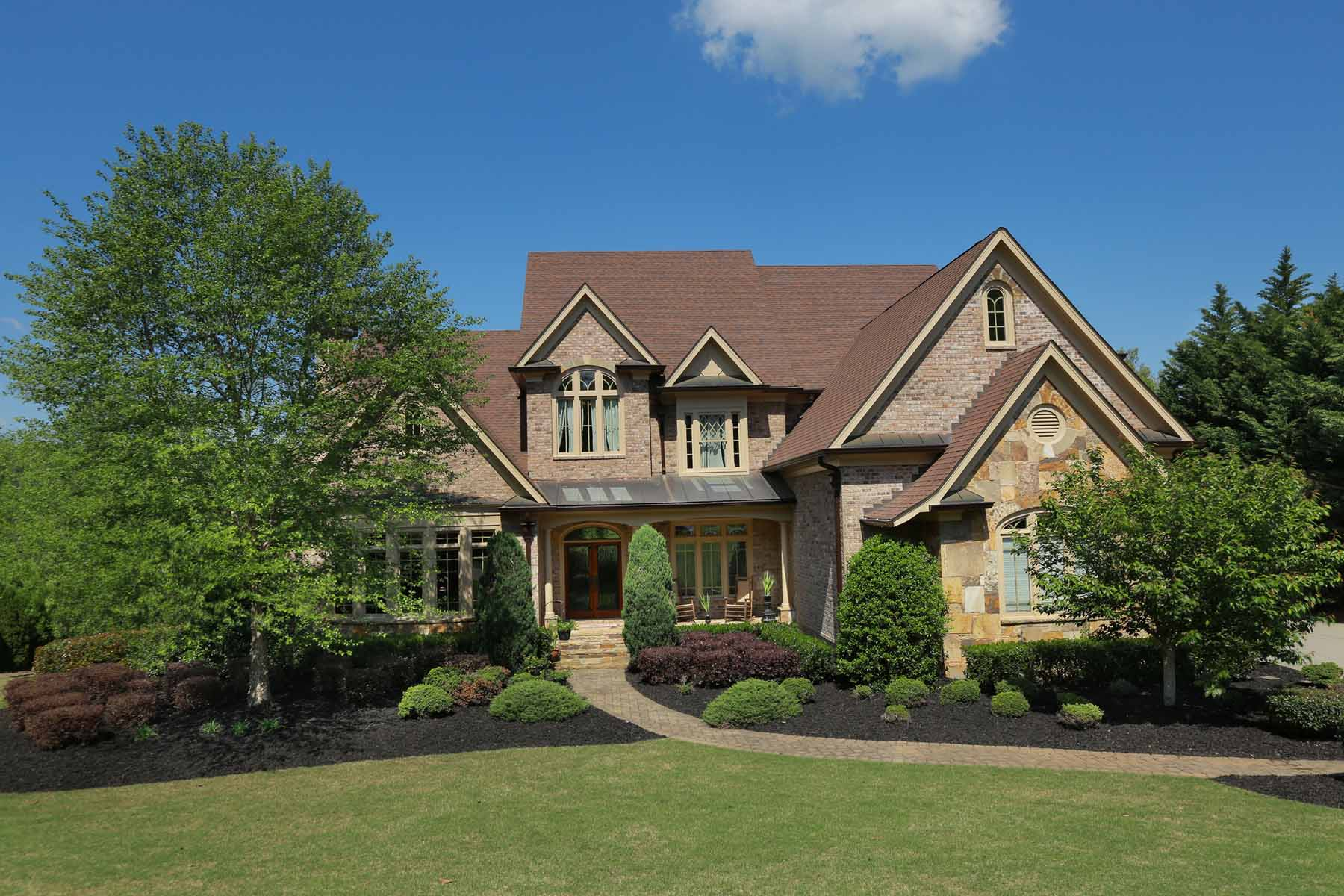Property For Sale at Custom Home by Clark Porche in The Manor Golf and Country Club