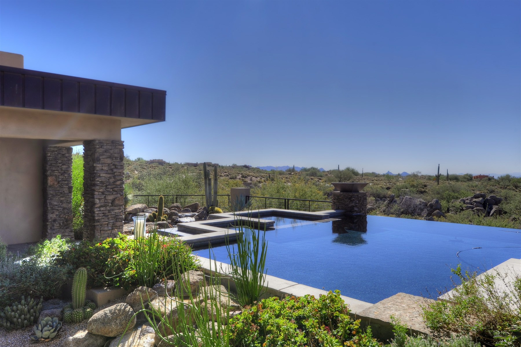 Property Of Brilliantly finished home with extraordinary views