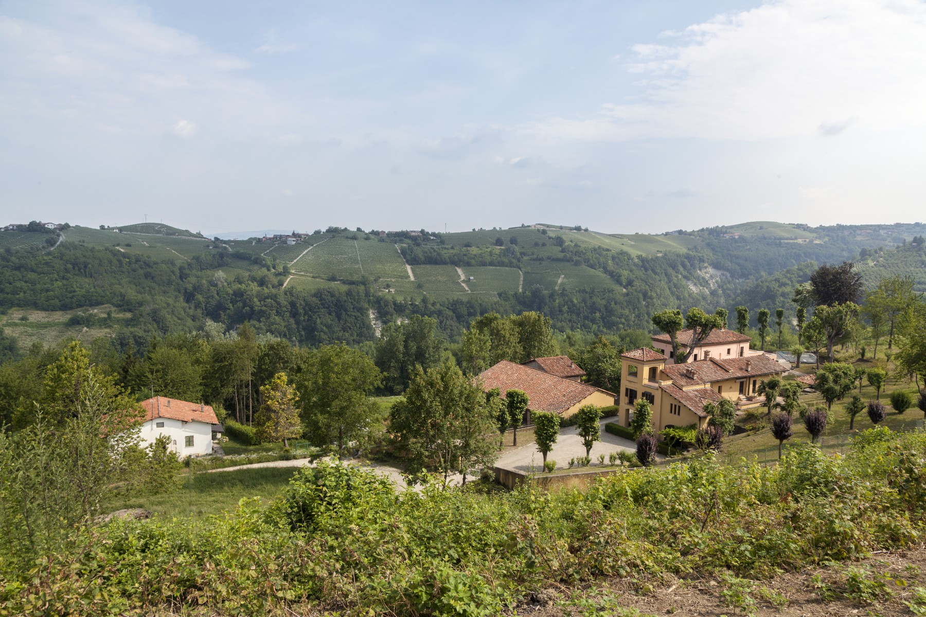 Single Family Home for Sale at Charming estate with Langhe country views Clavesana, Cuneo Italy