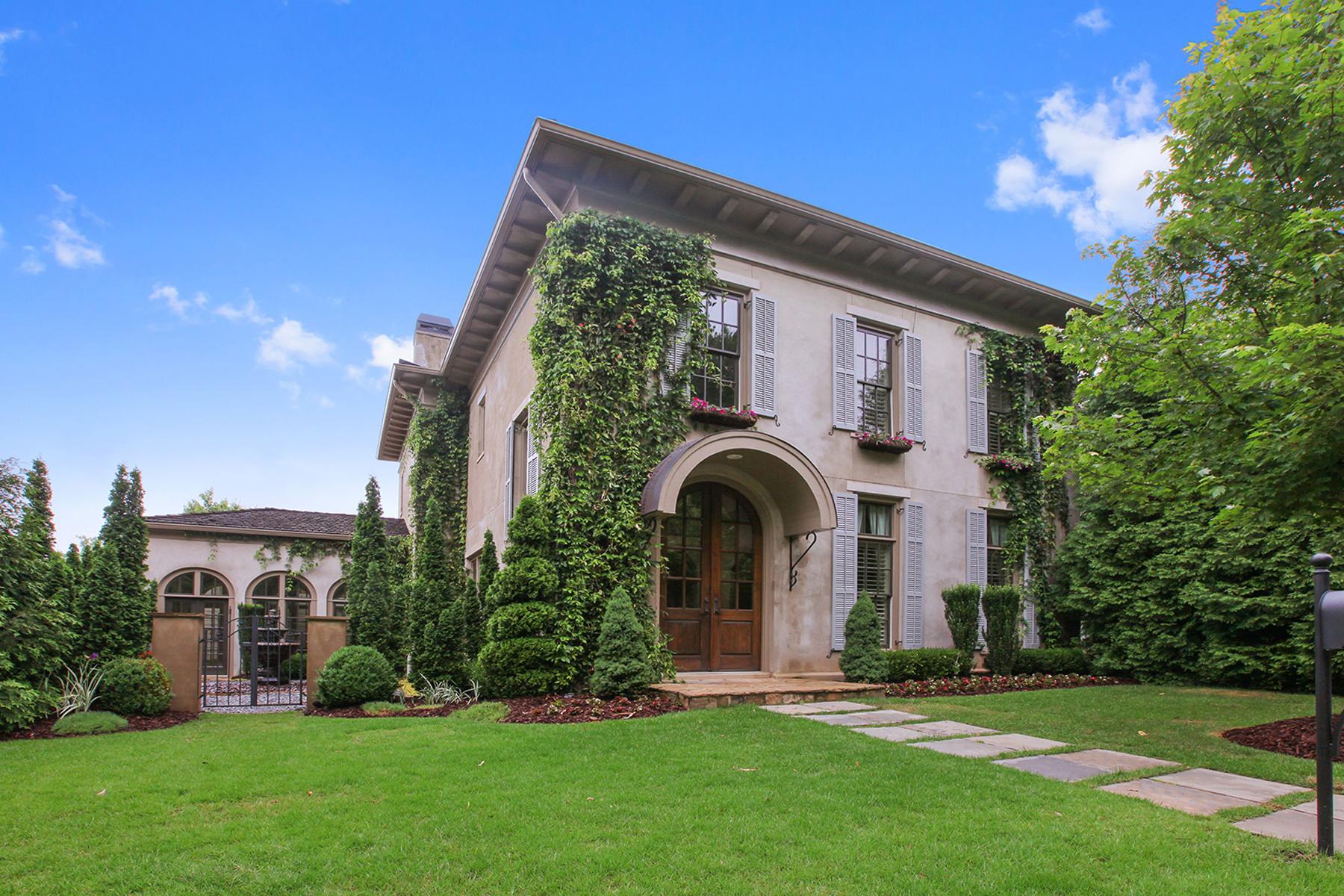 Einfamilienhaus für Verkauf beim A Private Oasis In Vickery 6835 Bucks Road Cumming, Georgia 30040 Vereinigte Staaten