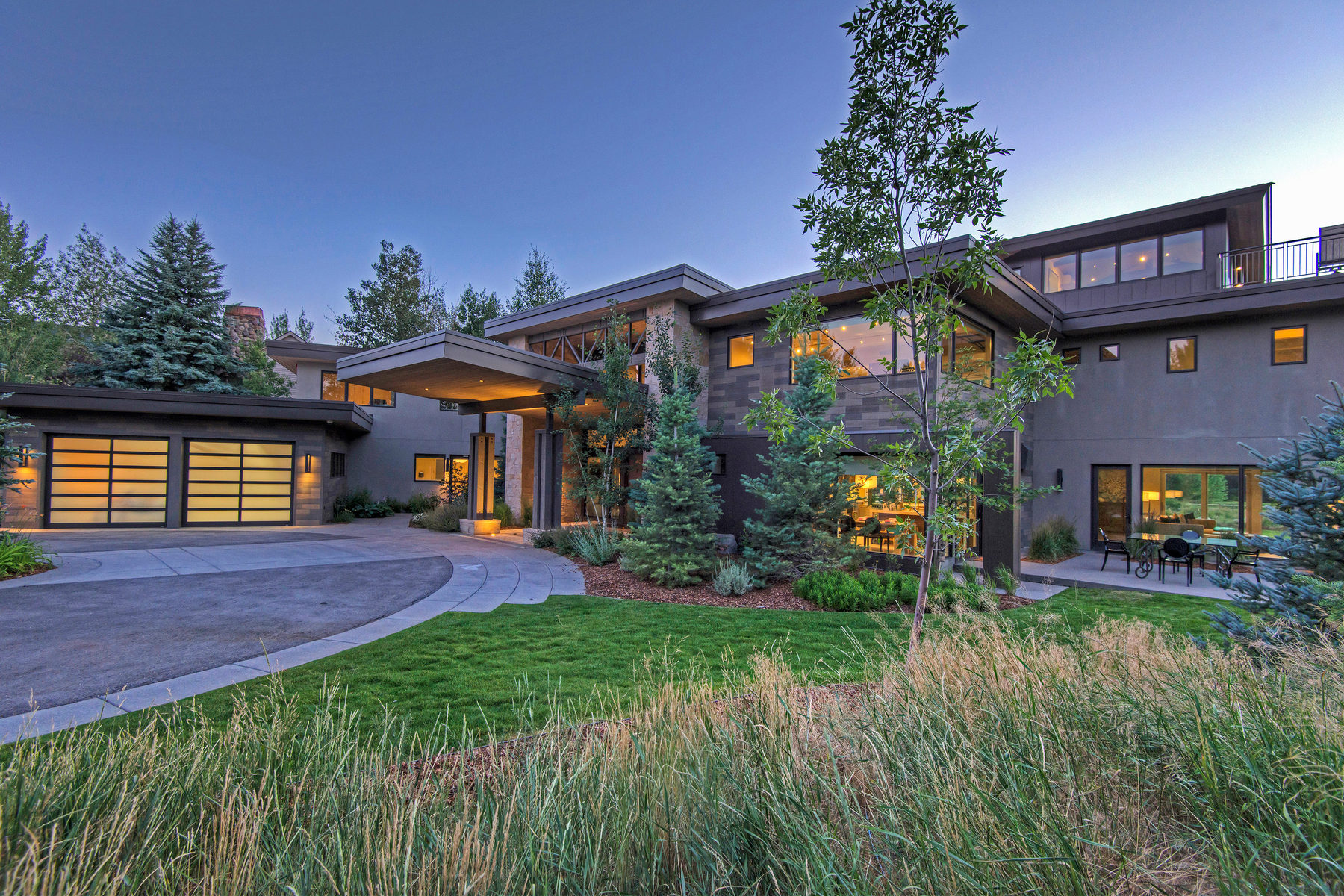 独户住宅 为 销售 在 Exquisite Contemporary Estate 1334 Lucky John Dr Park City, 犹他州 84060 美国