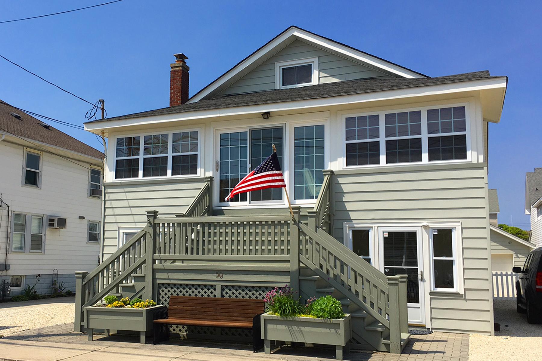 Maison multifamiliale pour l Vente à Gorgeous Ocean Block MotherDaughter 50 G Street Seaside Park, New Jersey, 08752 États-Unis