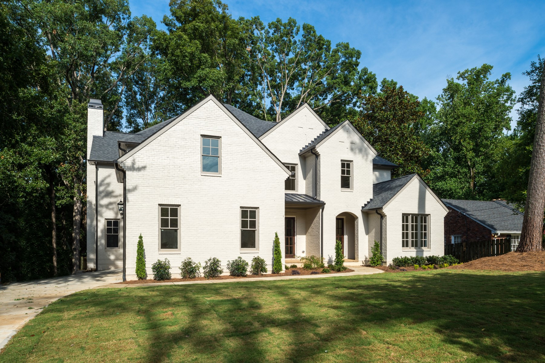 Single Family Home for Active at Brand New With Three Car Garage In The Heart Of CastlewoodBuckhead 3059 Rhodenhaven Drive Atlanta, Georgia 30327 United States