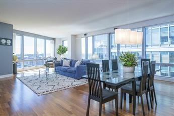 Condominium for Sale at Sunlight-drenched 3 bedrooms, 3.5 bath Waterfront home. 500 Atlantic Ave - Unit 15P Waterfront, Boston, Massachusetts, 02210 United States