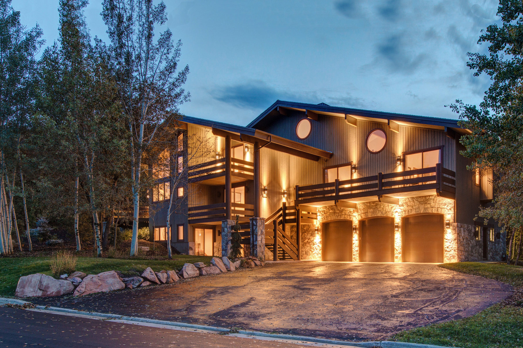 Single Family Home for Sale at One Of A Kind Home In Pinebrook 7093 Pinecrest Dr Park City, Utah 84098 United States