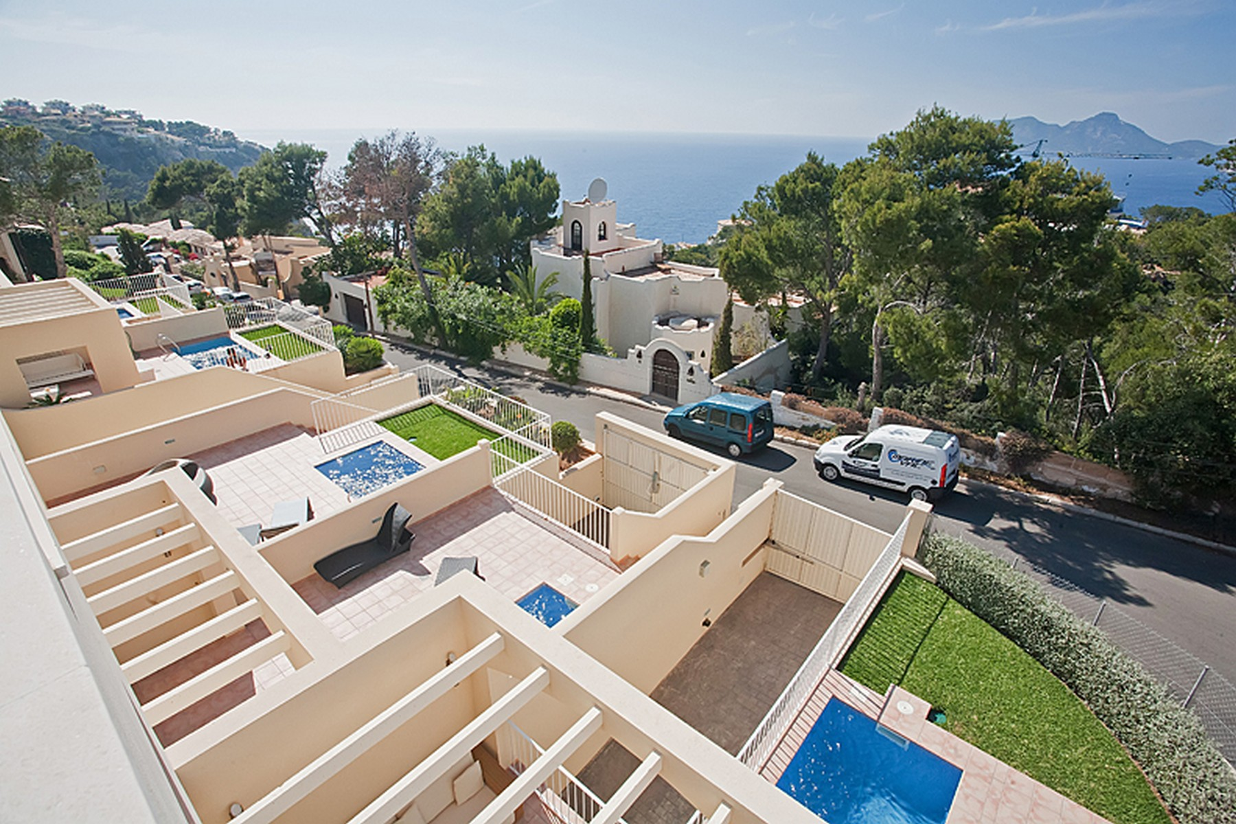 Single Family Home for Sale at Terraced house with sea views in Puerto de Andratx Port Andratx, Mallorca, 07157 Spain