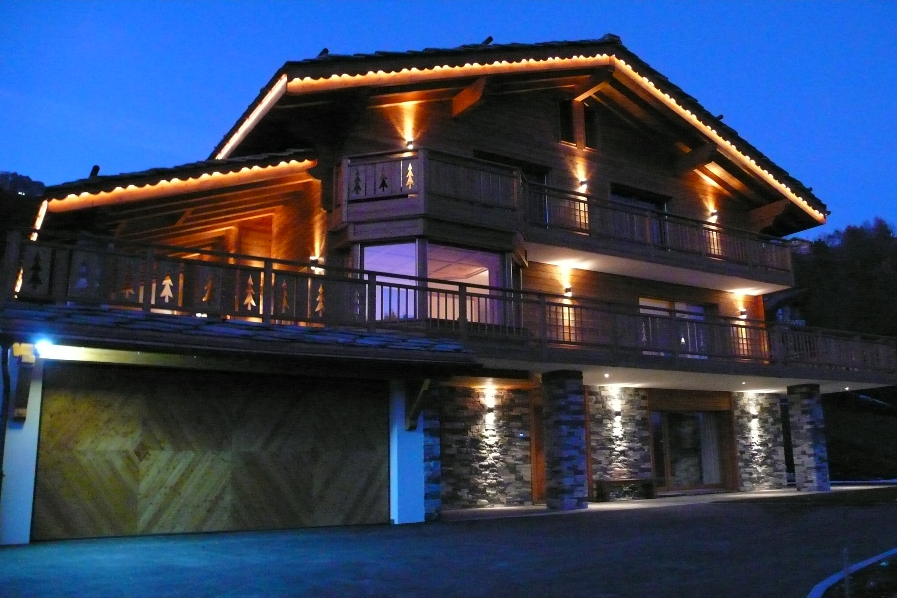 Other Residential for Sale at Superb chalet with breathtaking views over the Alps Crans, Valais 3963 Switzerland