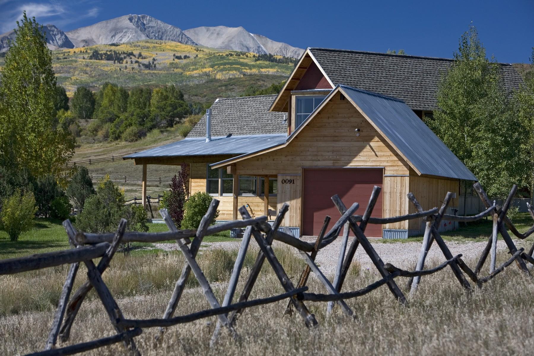 단독 가정 주택 용 매매 에 See Forever Views 91 Alexander Lane Snowmass, 콜로라도, 81654 미국