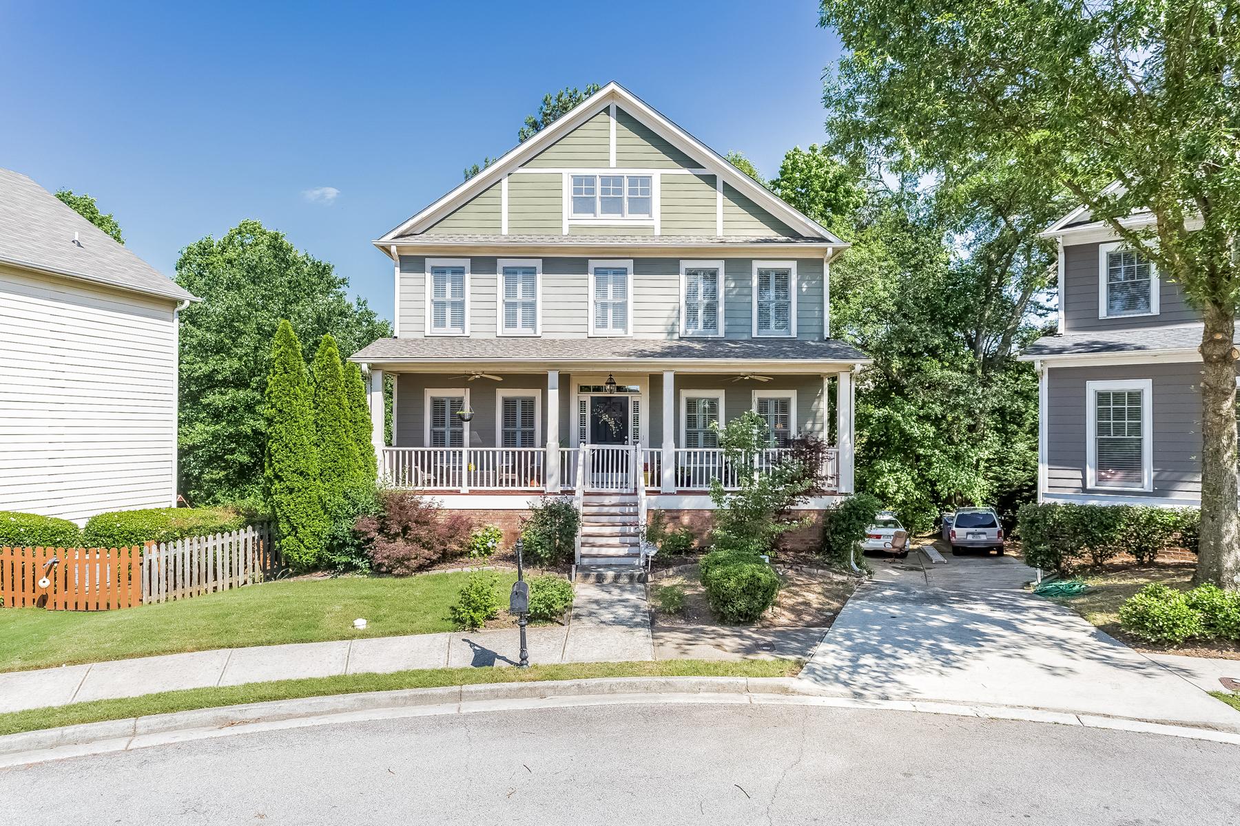 独户住宅 为 销售 在 Charming Adams Crossing Colonial 2072 Adams Overlook NW 亚特兰大, 乔治亚州, 30318 美国