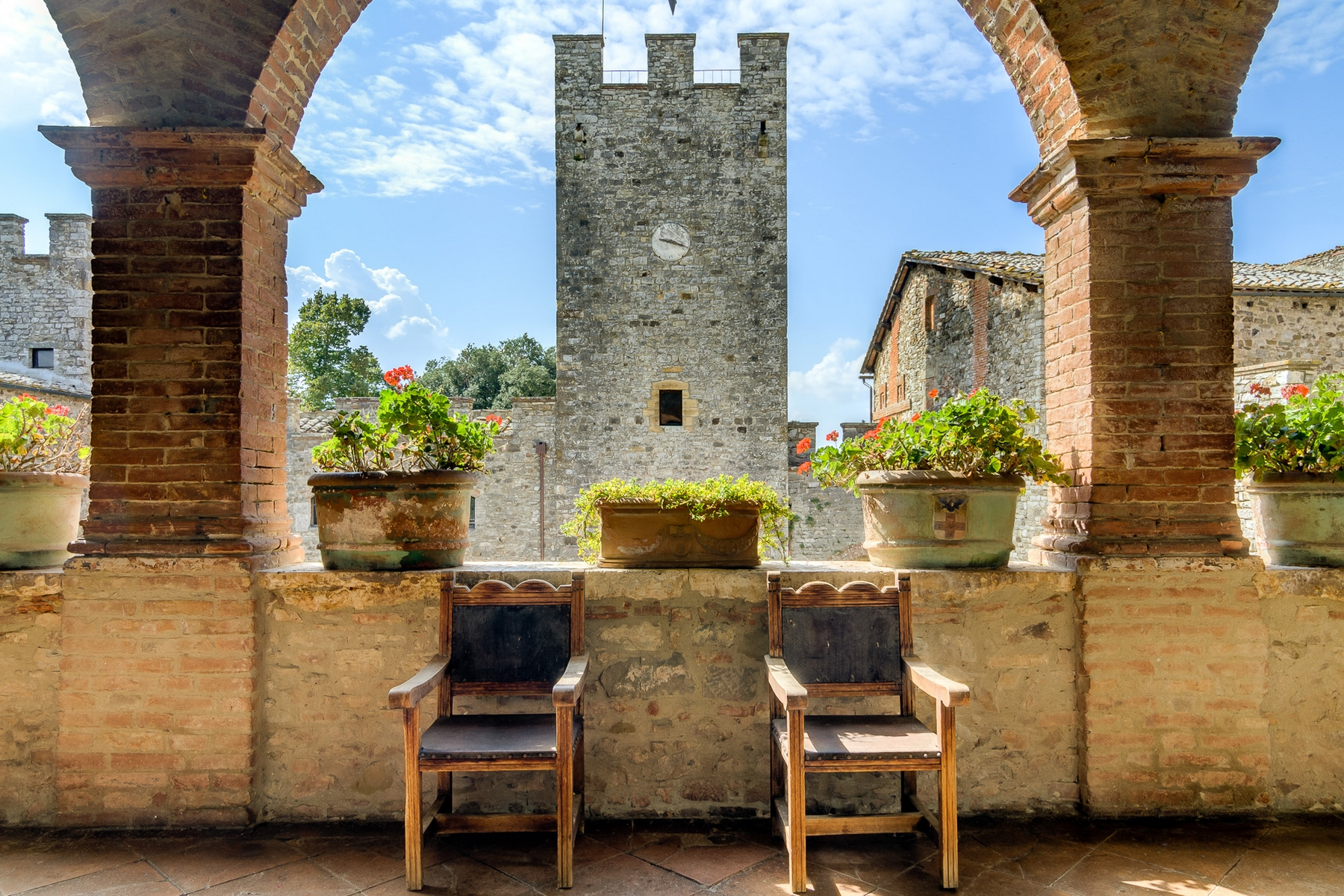 for Sale at Glamorous Medieval Castle near Siena Siena, 53011 Italy