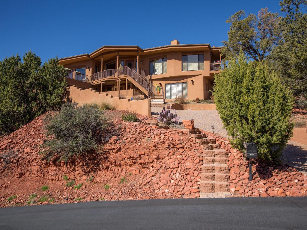 Vivienda unifamiliar por un Venta en Luxury Custom Home 330 Alhambra Sedona, Arizona 86336 Estados Unidos