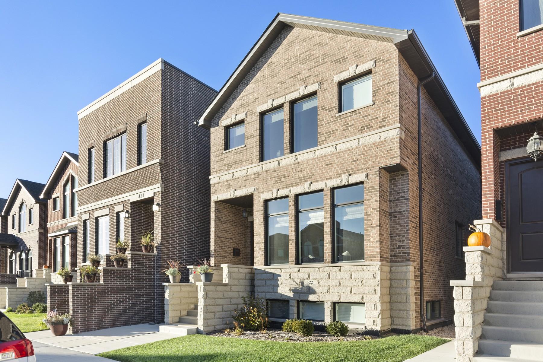独户住宅 为 销售 在 Stunning New Home at Bridgeport Collection! 422 W 38th Place Bridgeport, 芝加哥, 伊利诺斯州, 60609 美国