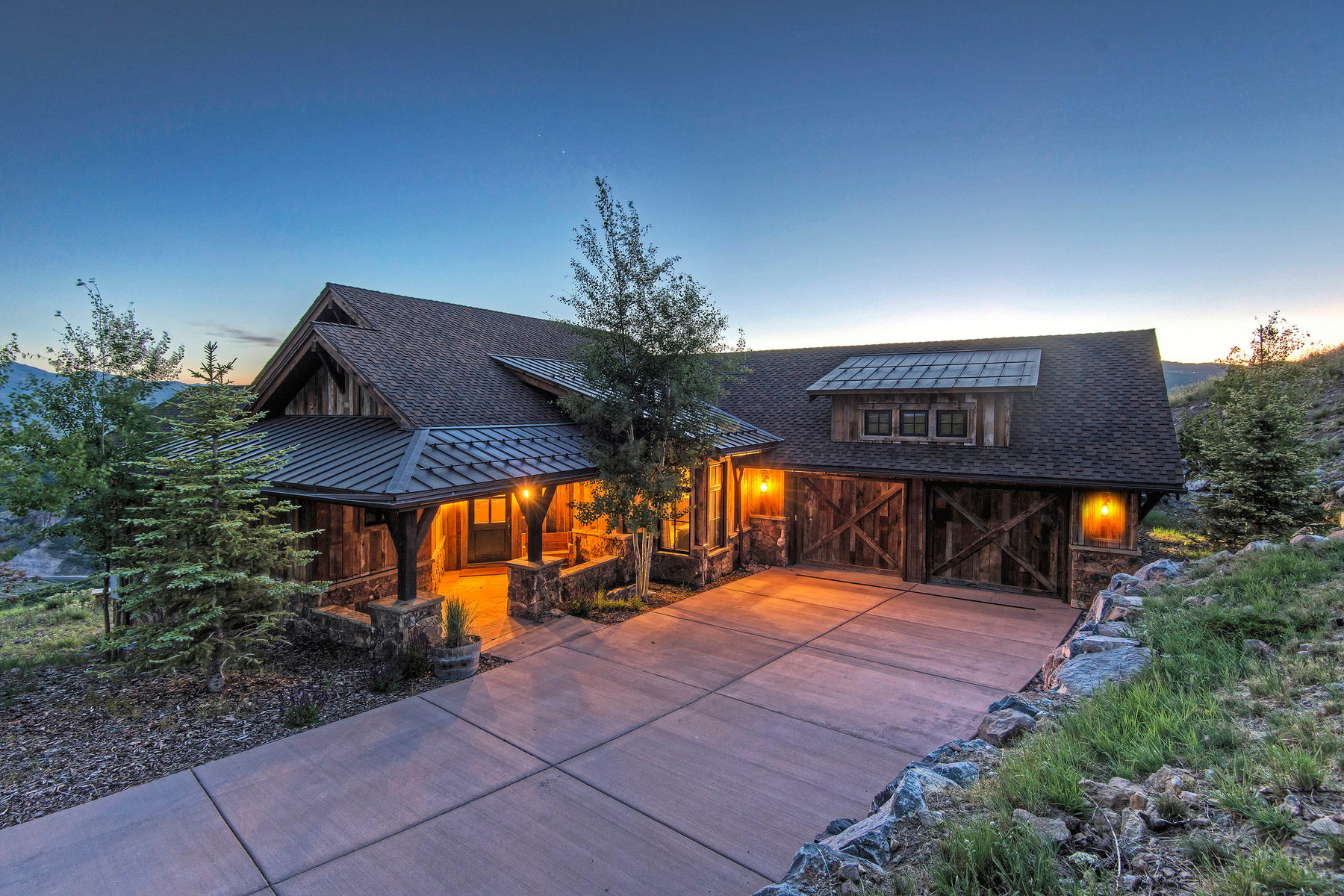 Single Family Home for Sale at Biggest View Cabin in Promontory 9243 Alice Ct Park City, Utah 84098 United States