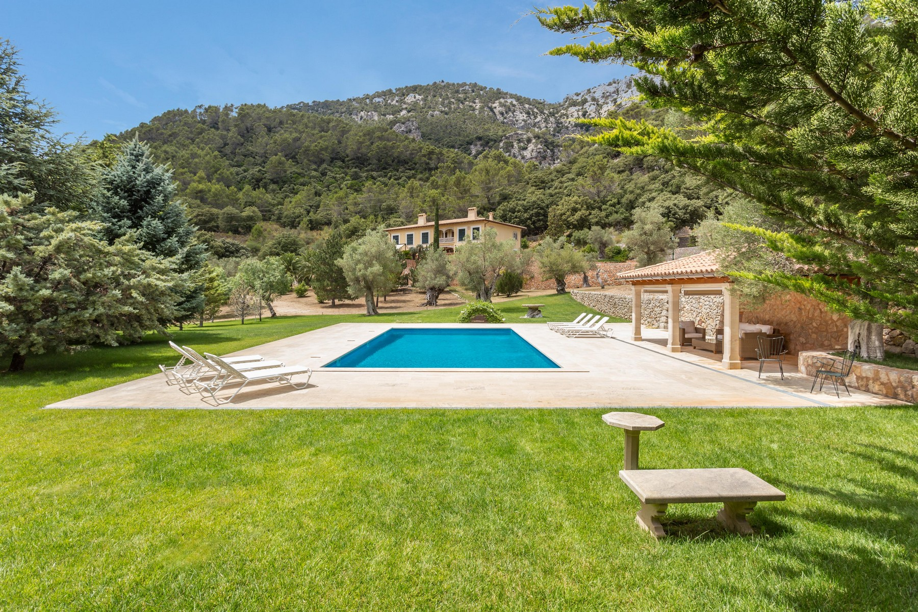 Multi-Family Home for Sale at Beautiful majorcan Finca in Bunyola Bunyola, Mallorca, 07110 Spain