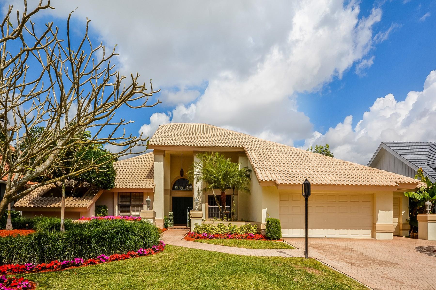 獨棟家庭住宅 為 出售 在 7081 Valencia Dr , Boca Raton, FL 33433 7081 Valencia Dr Boca Raton, 佛羅里達州 33433 美國