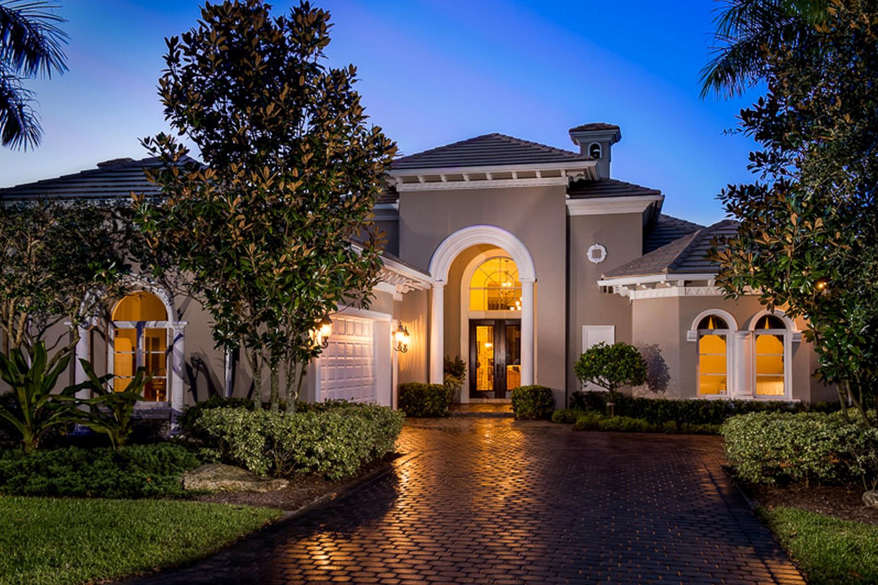 独户住宅 为 销售 在 9651 SE Sandpine Lane Hobe Sound, 佛罗里达州 33455 美国