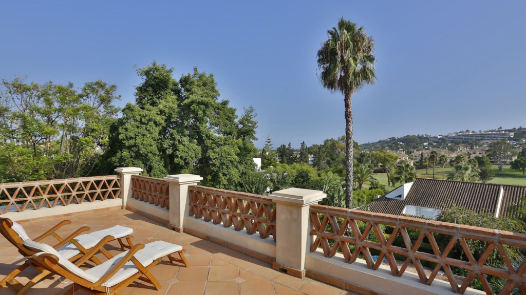 Single Family Home for Sale at Charming villa designed in a typical elegant Andalucian style La Cerquilla Marbella, Andalucia 29660 Spain