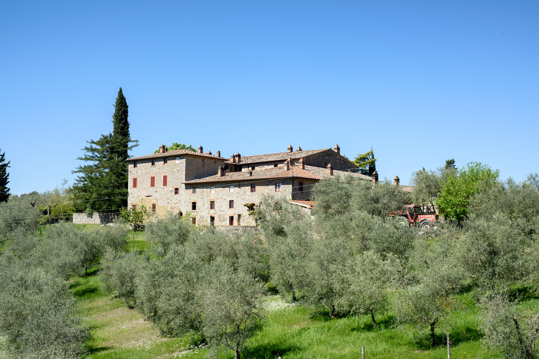 Single Family Home for Sale at Unique property in the heart of Chianti Le Pici Castelnuovo Berardenga, 53019 Italy