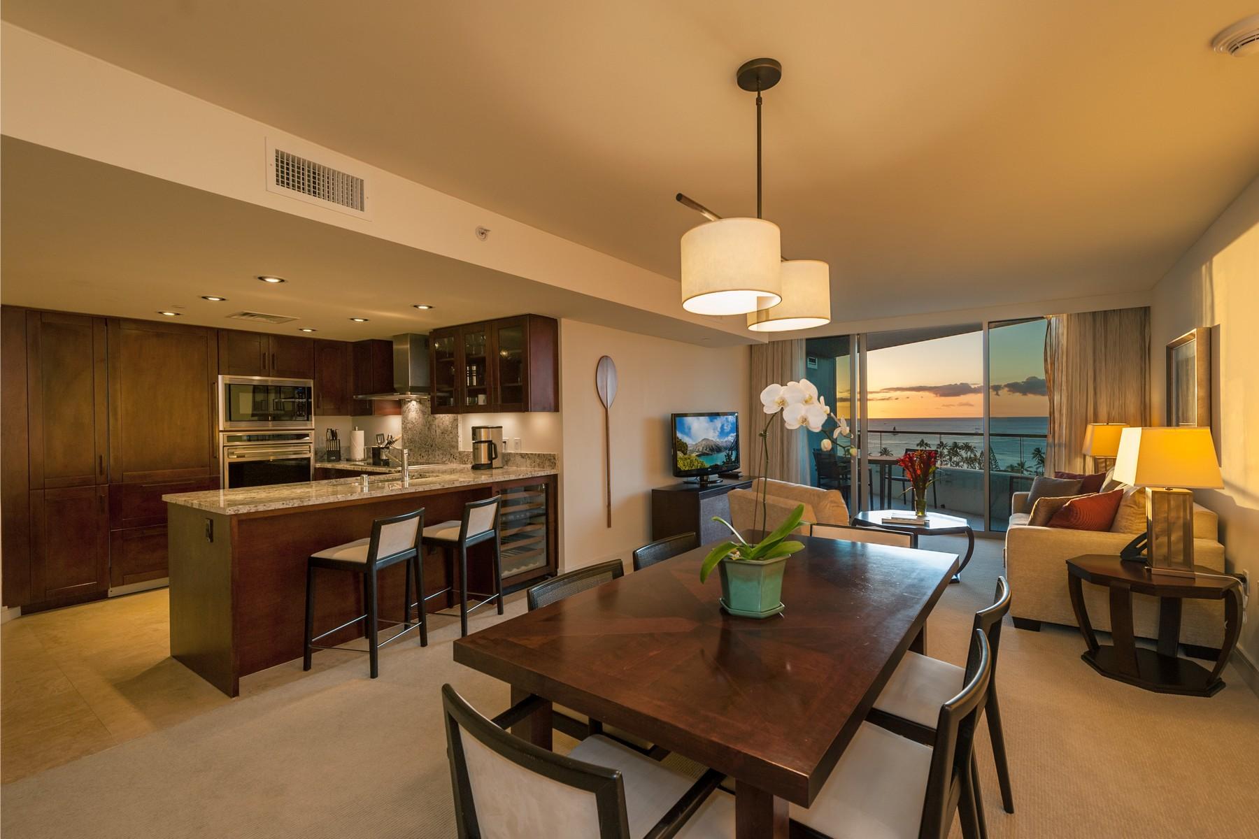 Condominio por un Venta en Luxury Living in Trump Tower 223 Saratoga Rd. #1311 Waikiki, Honolulu, Hawaii 96815 Estados Unidos
