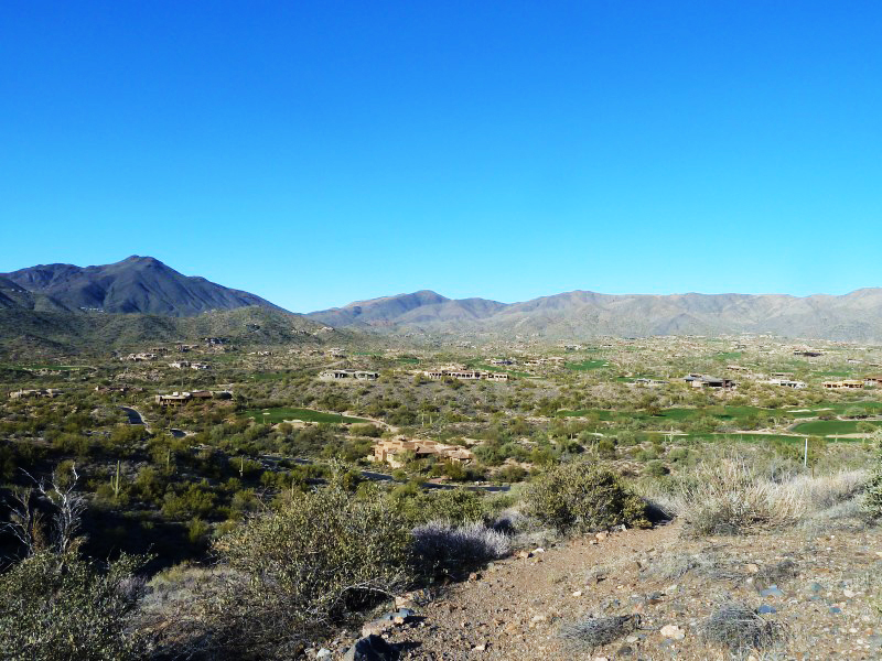 Property For Sale at Elevated 6+ Acre Golf and Mountain View Lot In Desert Mountain