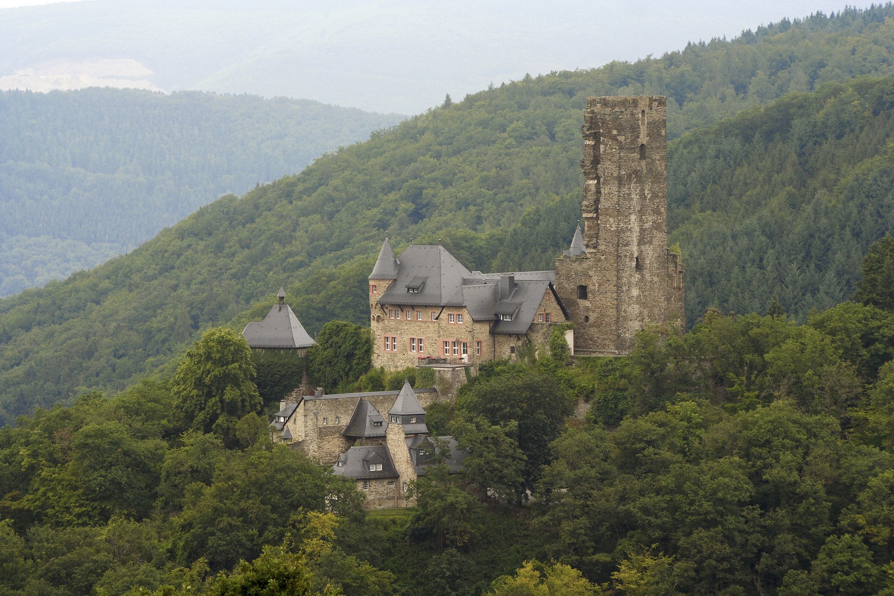 "Maison unifamiliale pour l Vente à Impressive castle complex, part of the UNESCO World Heritage Site ""Upper Middle Sauerthal, Rhenanie-Palatinat, 65391 Allemagne"