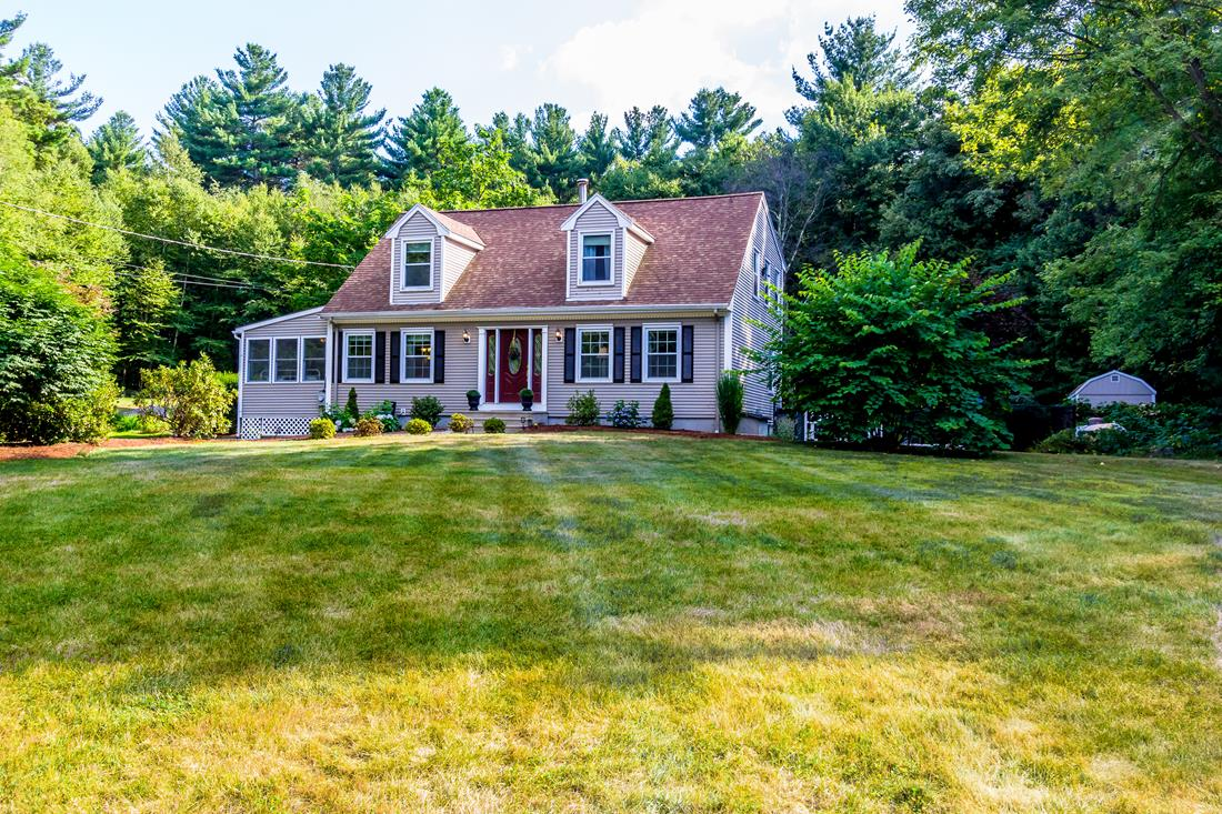 sales property at Updated Cape on Four Acres