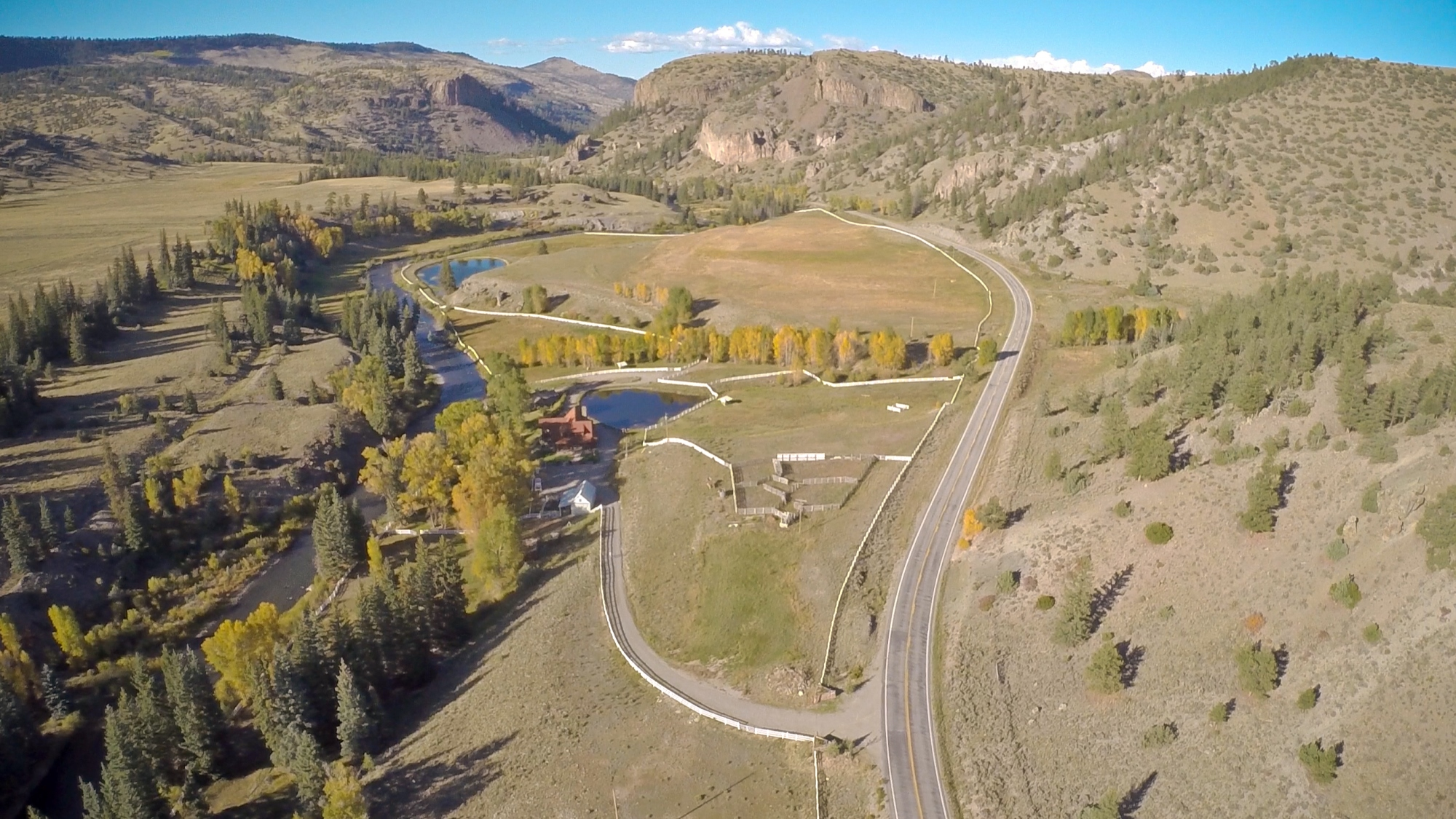 Single Family Home for Sale at River Front Ranch 5963 State Highway 149 Powderhorn, Colorado 81243 United States