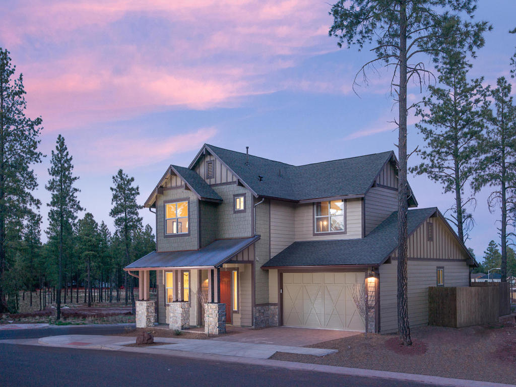 Single Family Home for Sale at Stunning Multi-Level Design 1948 Plan A Miramonte Homes Presidio Flagstaff, Arizona 86001 United States