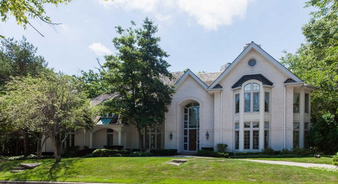 獨棟家庭住宅 為 出售 在 11 Ambriance Drive Burr Ridge, 伊利諾斯州, 60527 美國