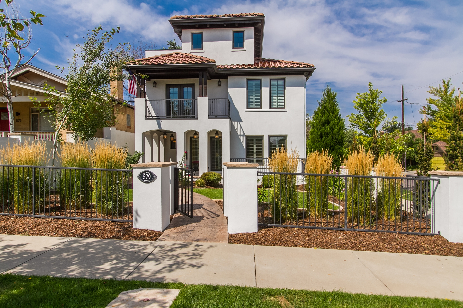 Single Family Home for Sale at This Mediterranean Masterpiece Will Take Your Breath Away 579 Madison Street Denver, Colorado 80206 United States