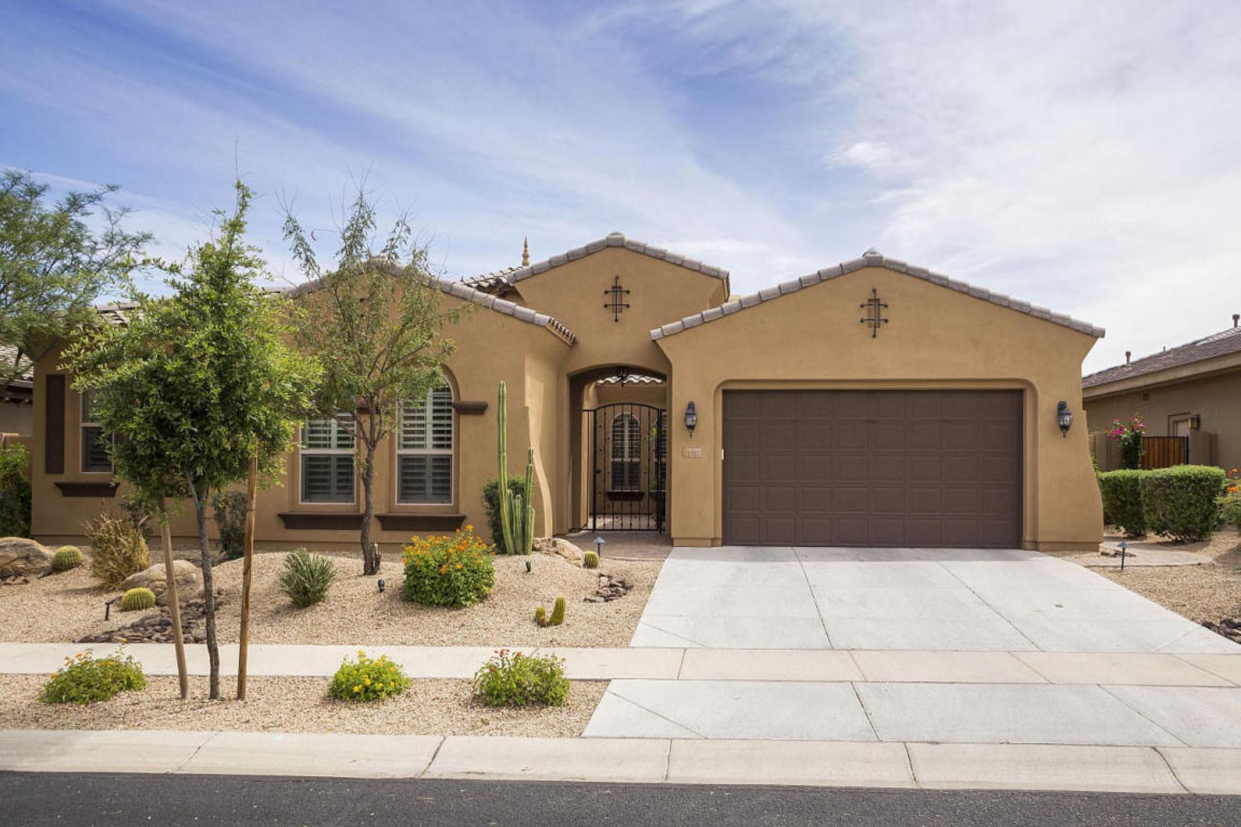 Частный односемейный дом для того Продажа на Impeccable TW Lewis home in the gated community of Desert Springs 1707 W SLEEPY RANCH RD Phoenix, Аризона 85085 Соединенные Штаты