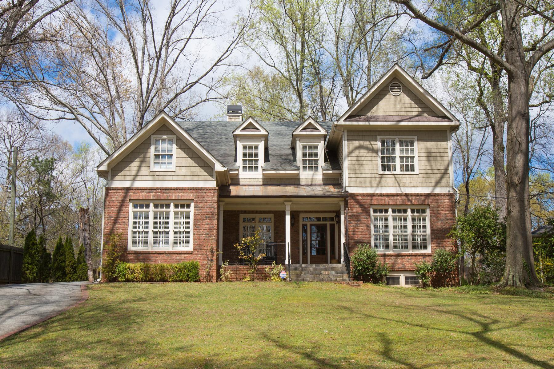 Tek Ailelik Ev için Satış at Gorgeous Brookhaven Home 900 Carter Drive NE Brookhaven, Atlanta, Georgia 30319 Amerika Birleşik Devletleri