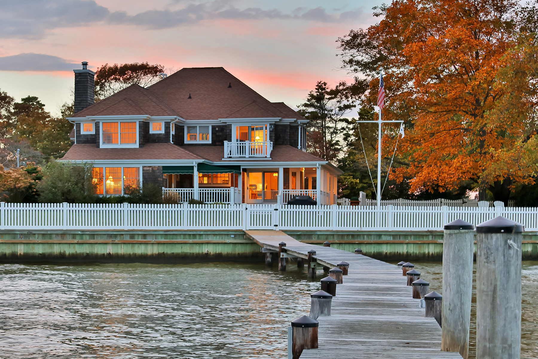 sales property at Custom Metedeconk Riverfront Home