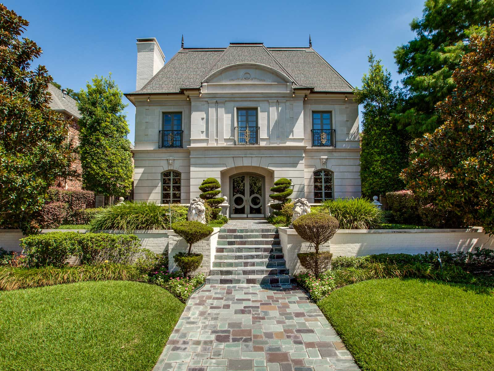 Single Family Home for Sale at French Inspired Highland Park Home 3110 Drexel Drive Dallas, Texas 75205 United States