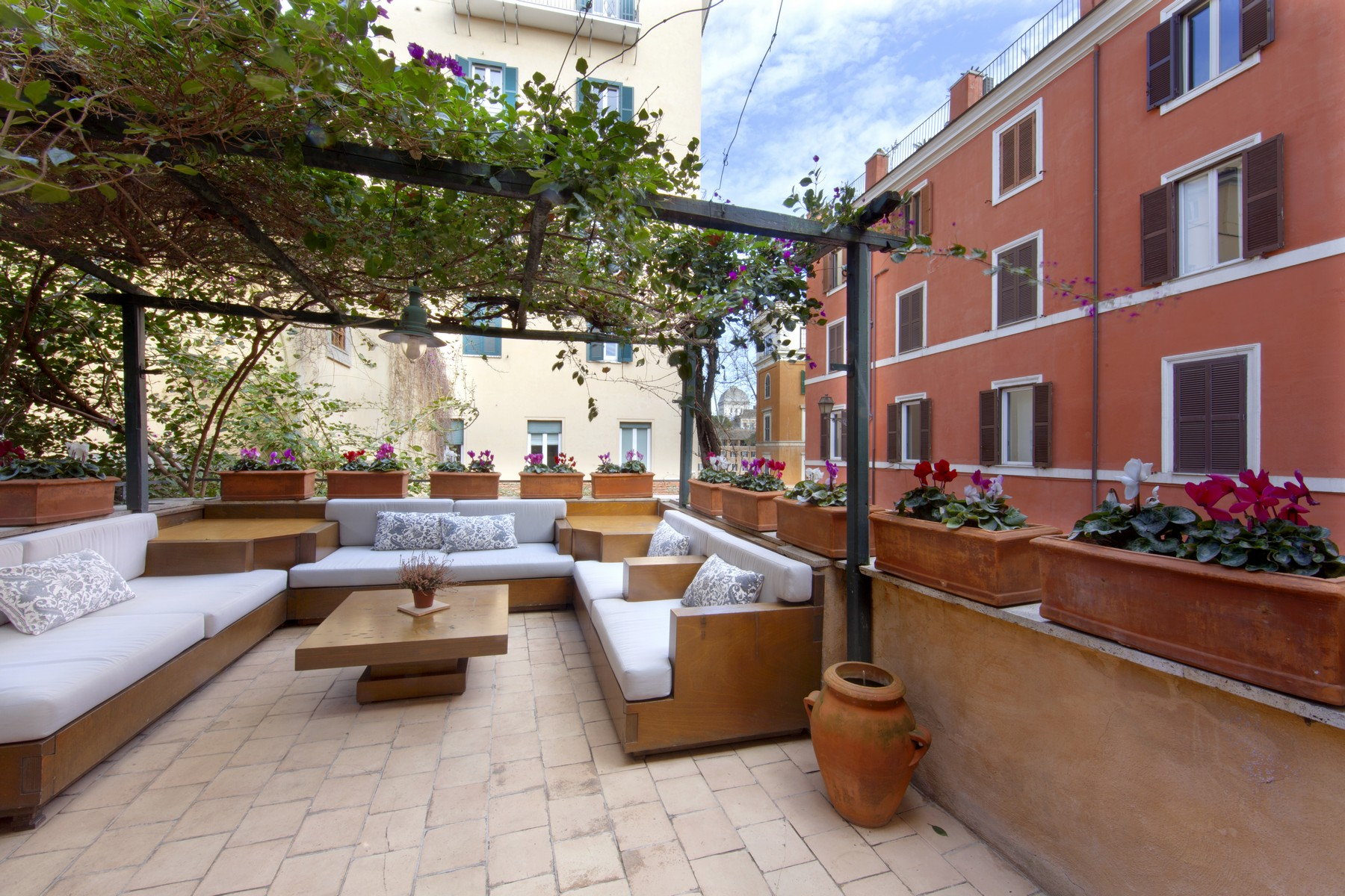 Single Family Home for Rent at Charming independent building of the medieval ages Vicolo della Luce Rome, Rome 00195 Italy