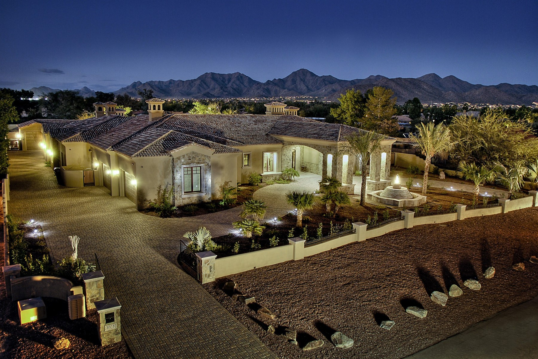 sales property at North-South positioned Scottsdale Residence with some of the best views