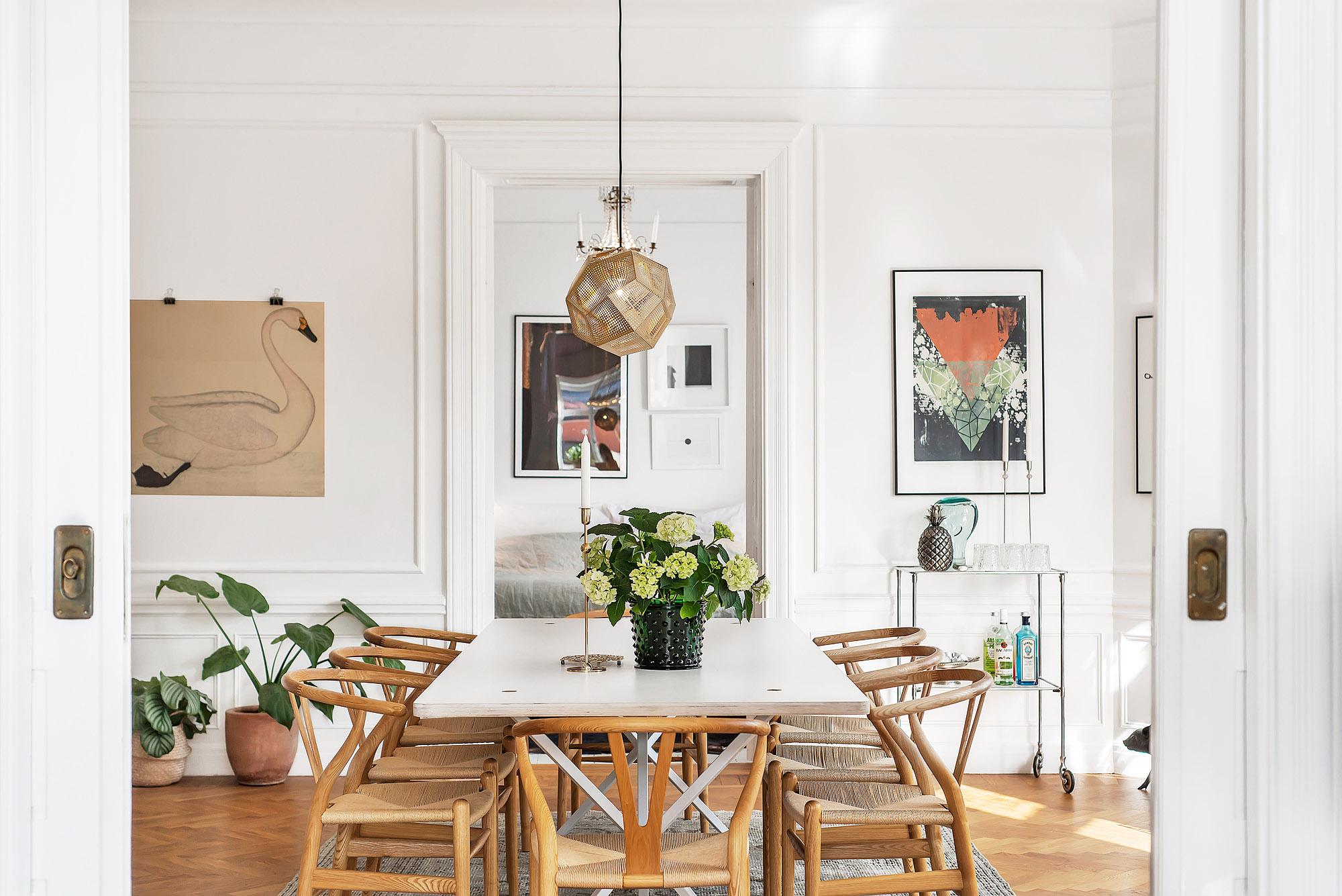 Căn hộ vì Bán tại Amazing art nouveau apartment Stockholm, Stockholm Thụy Điển