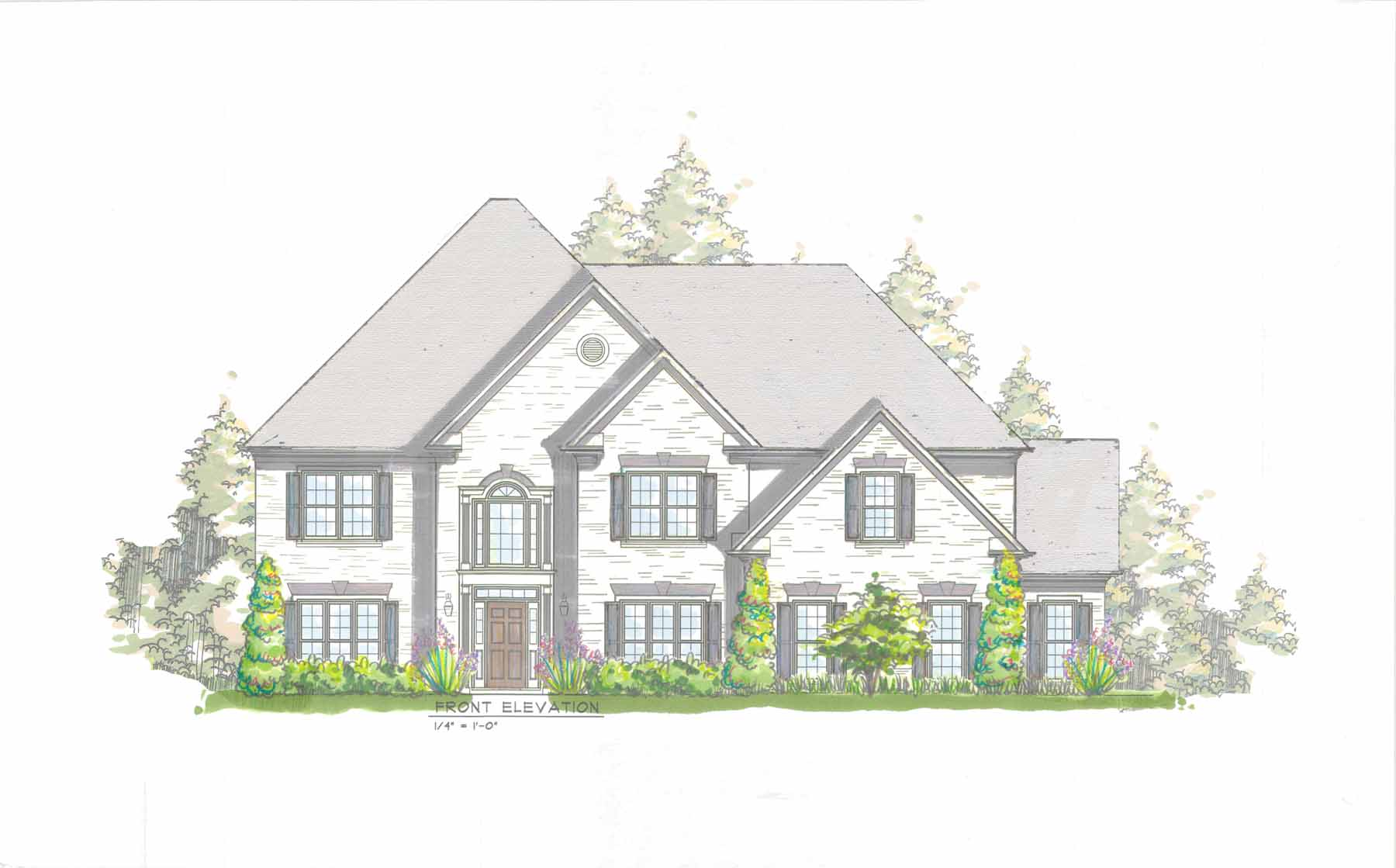 Casa Unifamiliar por un Venta en Beautiful New Build Near Chastain 4571 Dudley Lane Sandy Springs, Georgia, 30327 Estados Unidos
