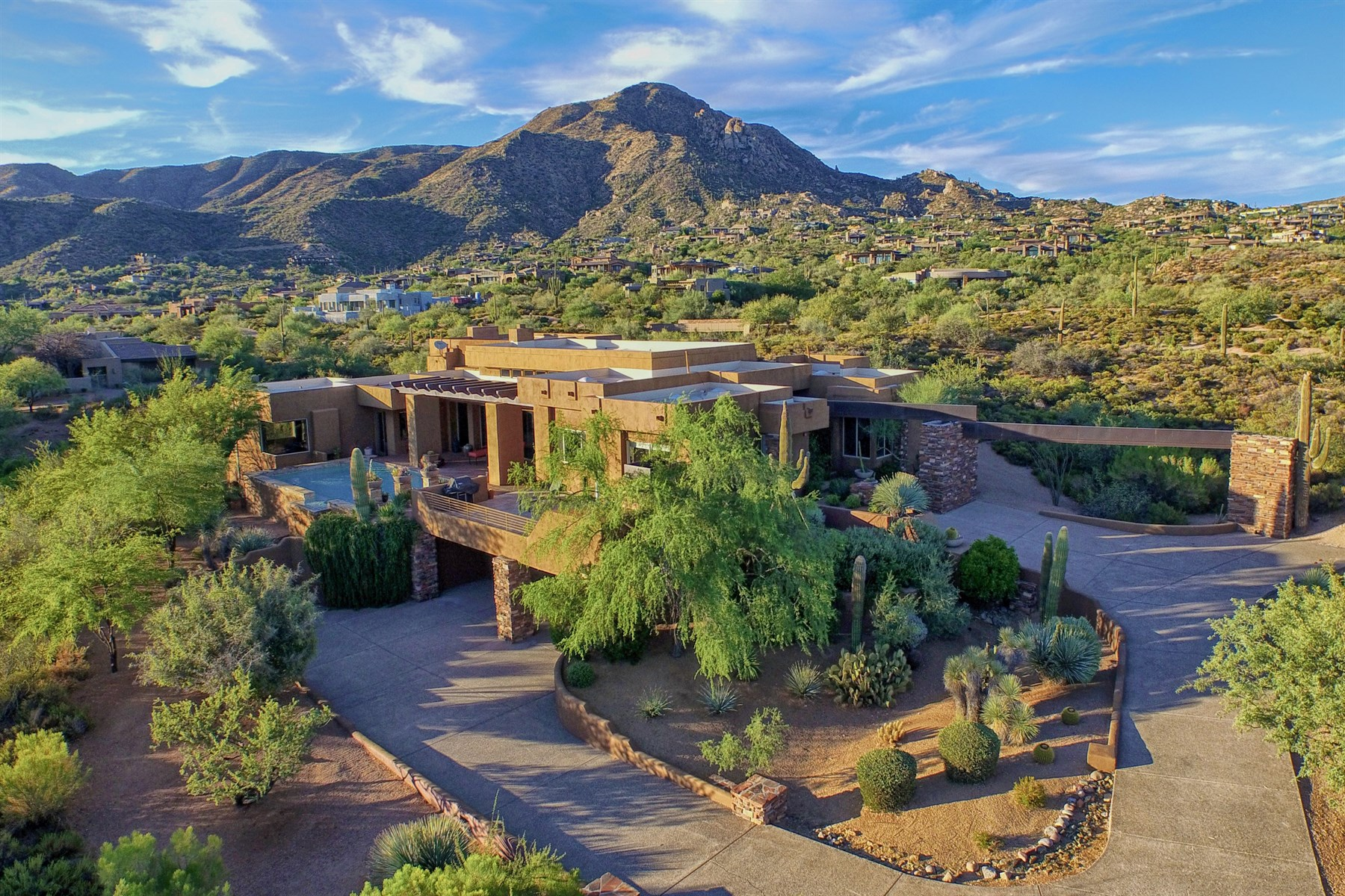 Property For Sale at Wonderful Soft Contemporary in Prestigious Desert Mountain Community