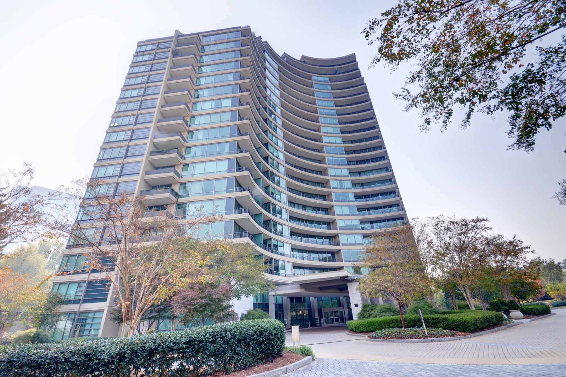 sales property at Beautiful Corner Unit at Park Regency located in the heart of Buckhead