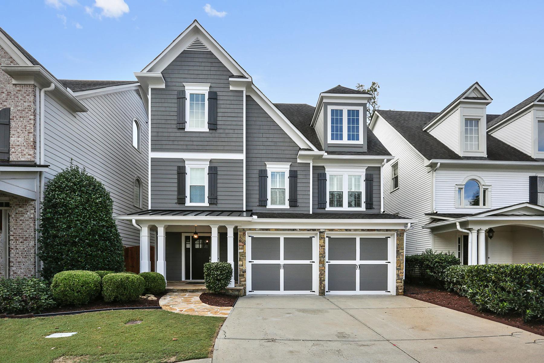 Villa per Vendita alle ore Completely Renovated Craftsman Style Home 3735 Paces Park Circle SE Smyrna, Georgia, 30080 Stati Uniti