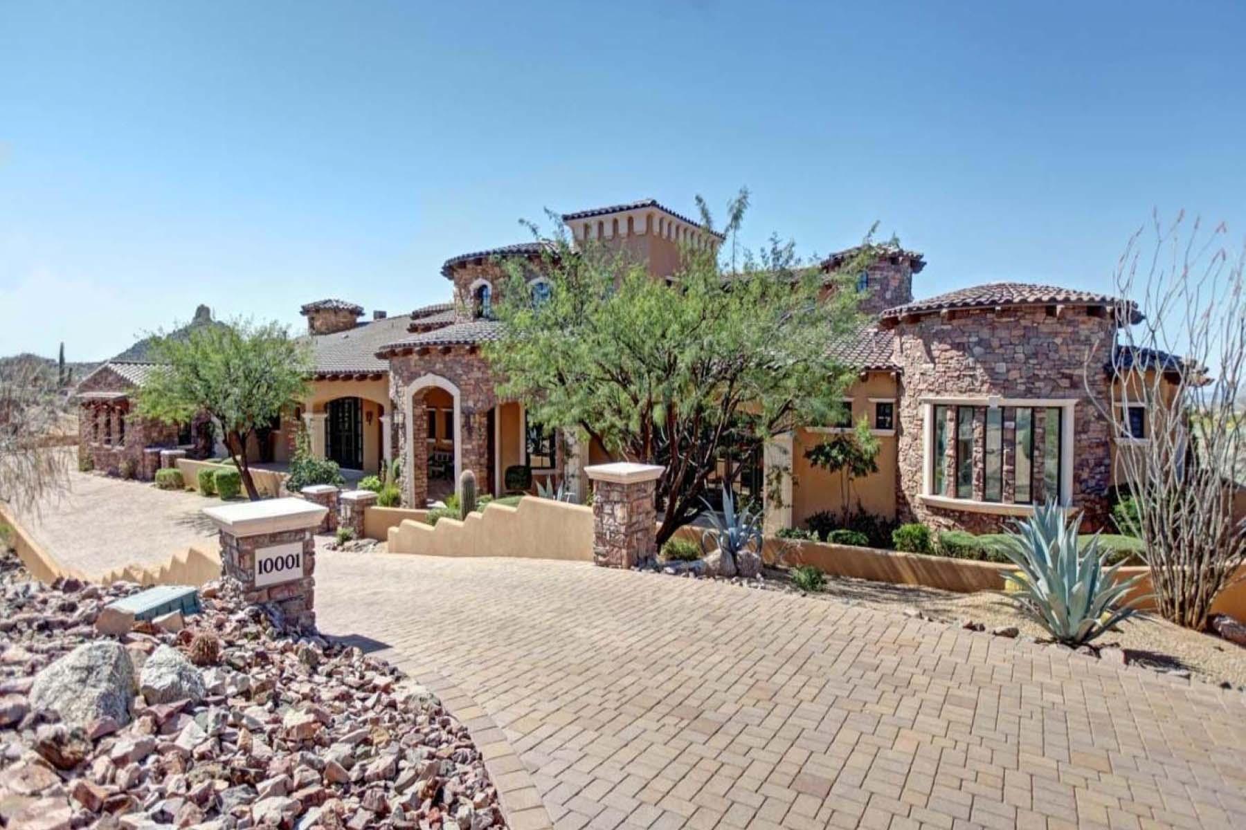 一戸建て のために 売買 アット A dream residence in the gated community of Talus. 10001 E BALANCING ROCK RD Scottsdale, アリゾナ 85262 アメリカ合衆国
