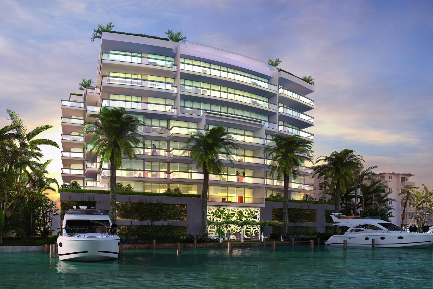 共管式独立产权公寓 为 销售 在 9241 E Bay Harbor Dr #802 迈阿密海滩, 佛罗里达州 33154 美国