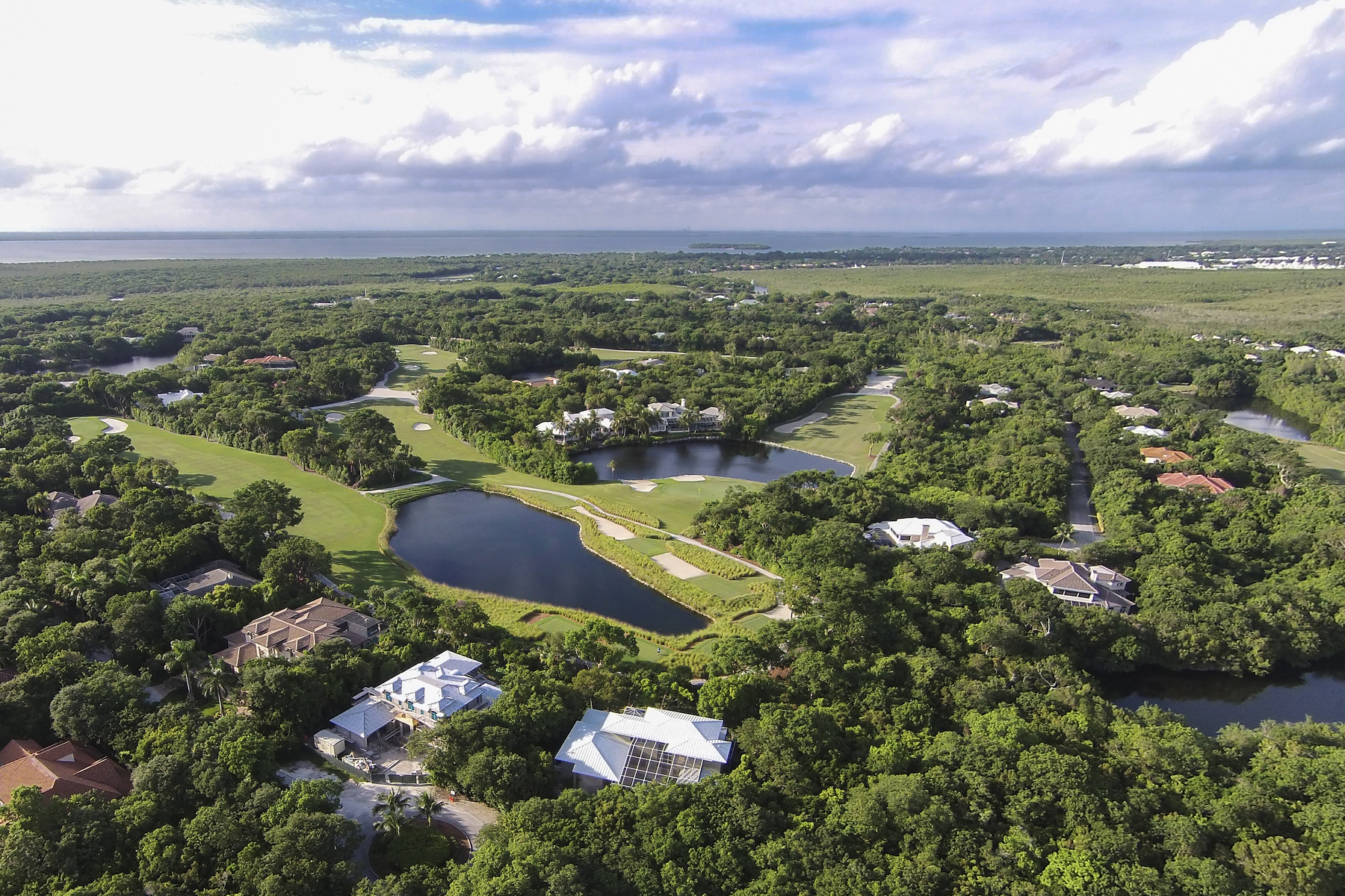 Single Family Home for Sale at Panoramic Golf and Lake Views at Ocean Reef 437 South Harbor Drive Key Largo, Florida, 33037 United States