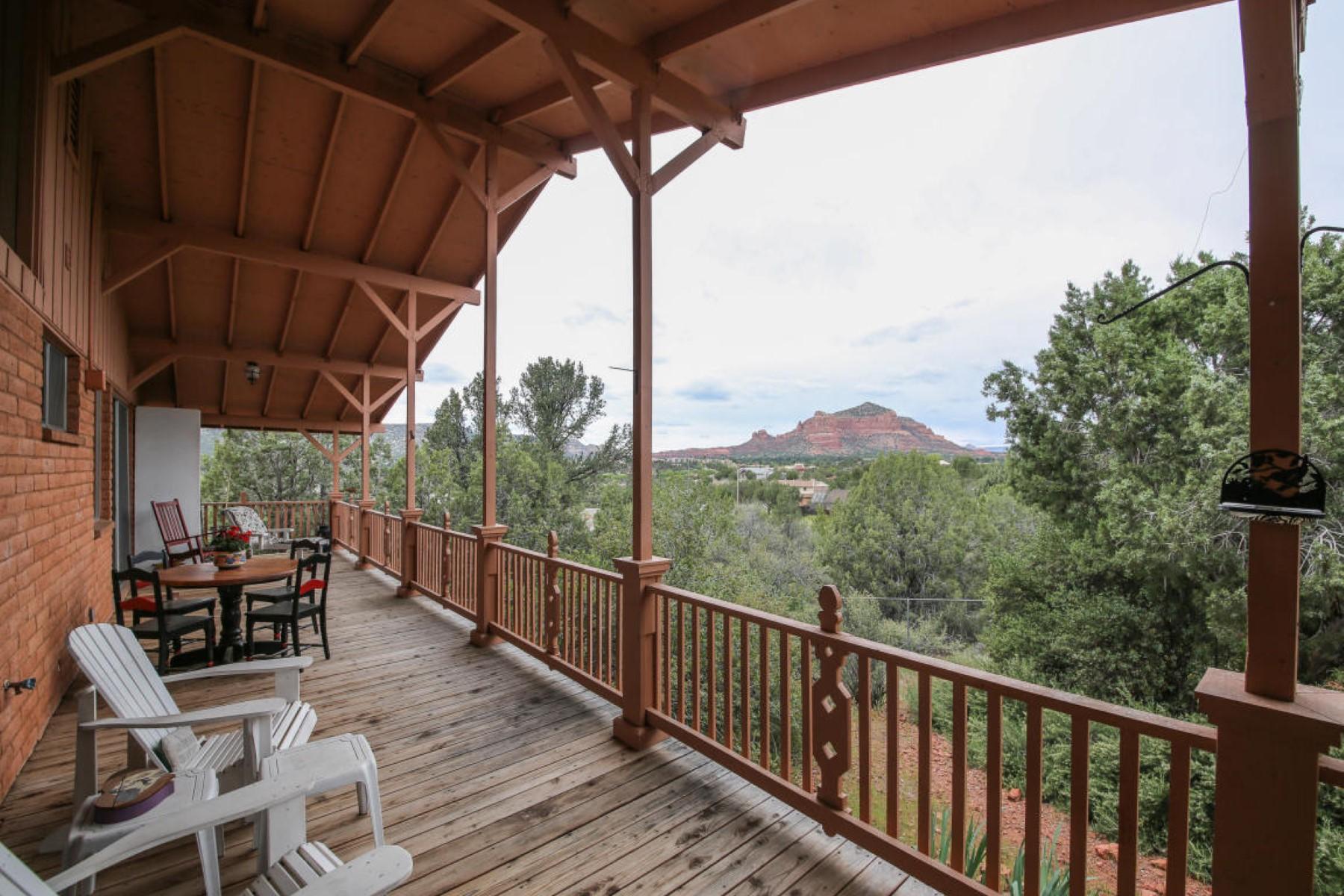 一戸建て のために 売買 アット Nestled on a quiet half acre lot among pine. 80 W Tonto Rim DR Sedona, アリゾナ 86351 アメリカ合衆国