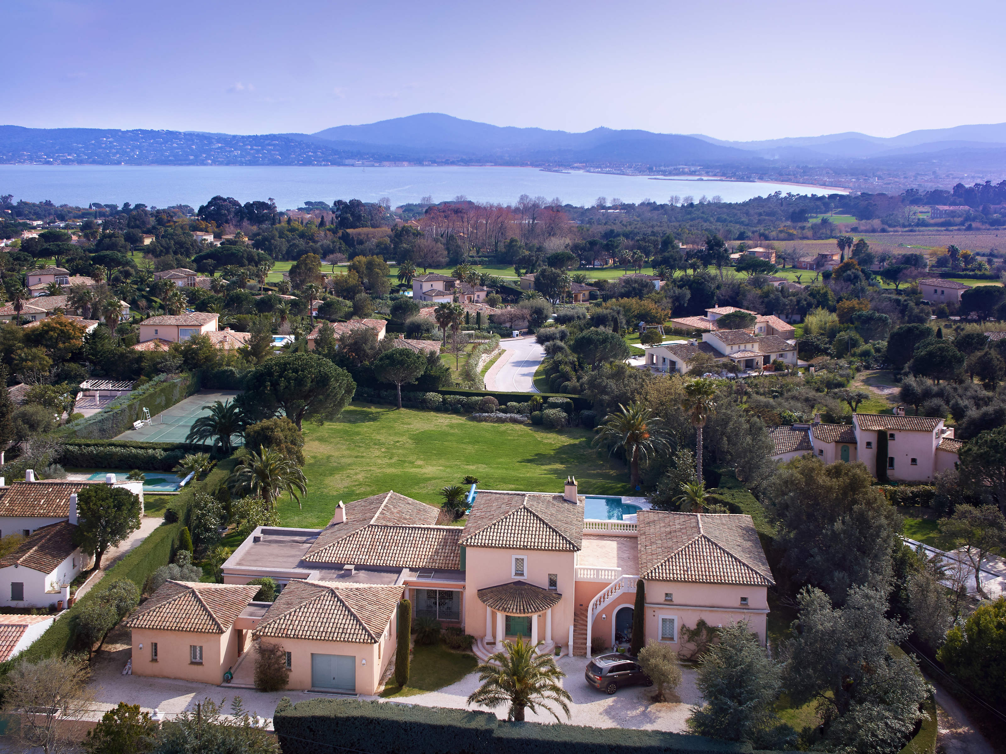 Single Family Home for Sale at Sea view for this magnificent property Grimaud, Provence-Alpes-Cote D'Azur 83310 France