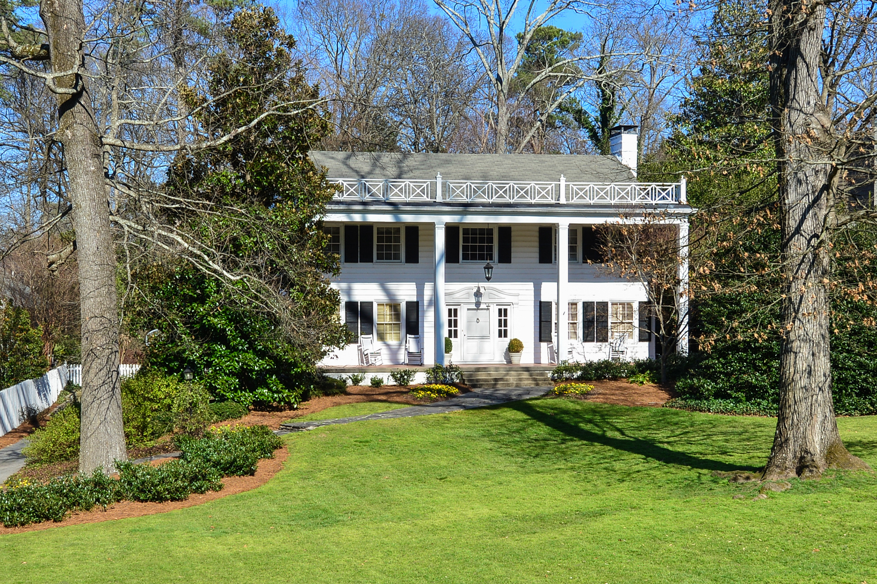 sales property at Historic Brookhaven Beauty Features Great Bones, Flow and Large Flat Lot
